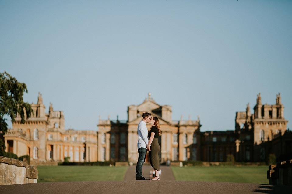 Engagement session in Blenheim Palace