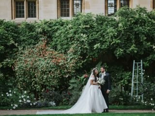 Elegant Wedding at Bodleian Library in Oxford, Oxfordshire